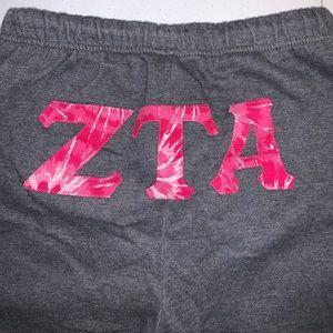 Zeta Tau Alpha (ZTA) sweatpants